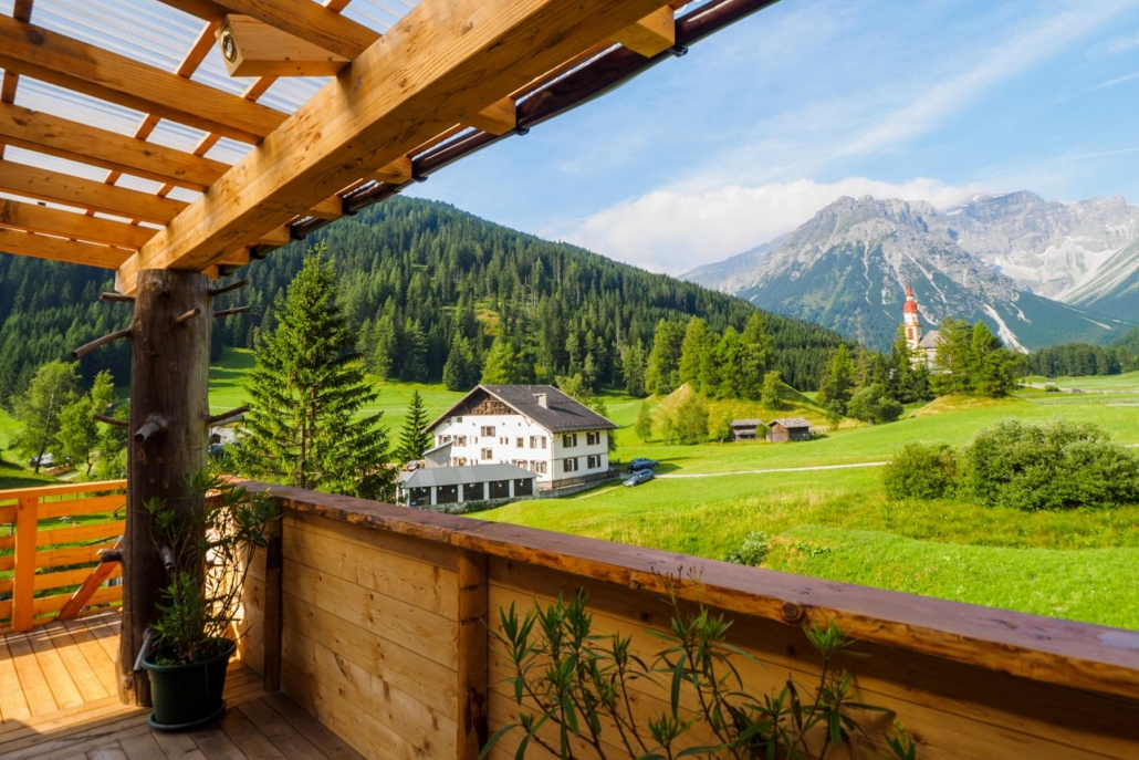 panorama saunaterrasse obernberg tirol