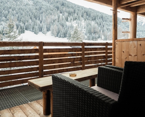 balkonterrasse berghotel tirol wipptal