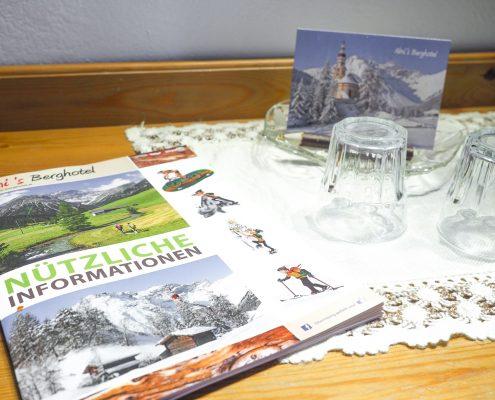 Infos und Service für Bergurlauber Alpenhauptkamm Tirol