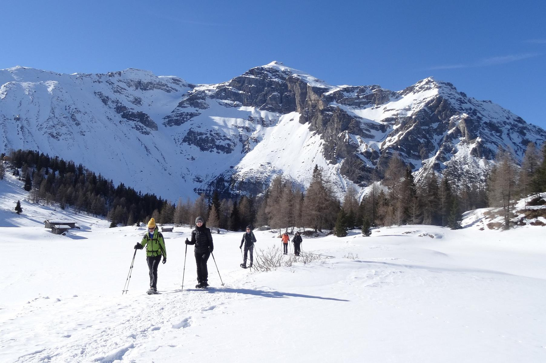 Schneeschuhwandern in Tirol, auch mit Wanderführer