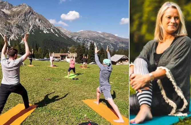 yoga in almis berghotel wipptal tirol